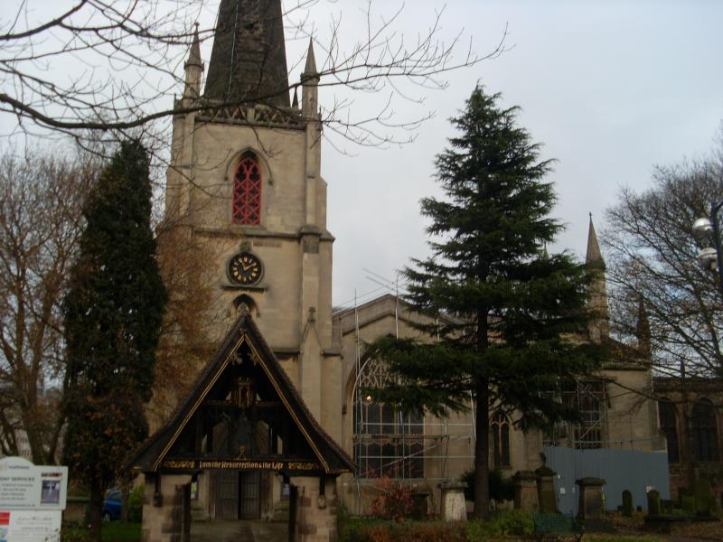 St Matthew's Church - Walsall