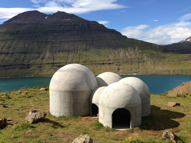 Tvísöngur Sound Sculpture, Iceland (Model)